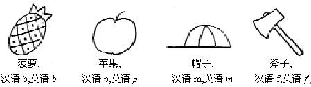 小学英语单词简笔画内容图片展示