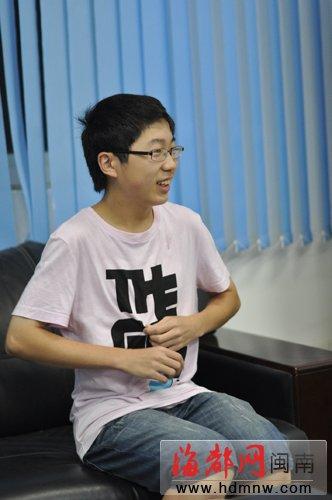 2011福建泉州中考状元张靖宇
