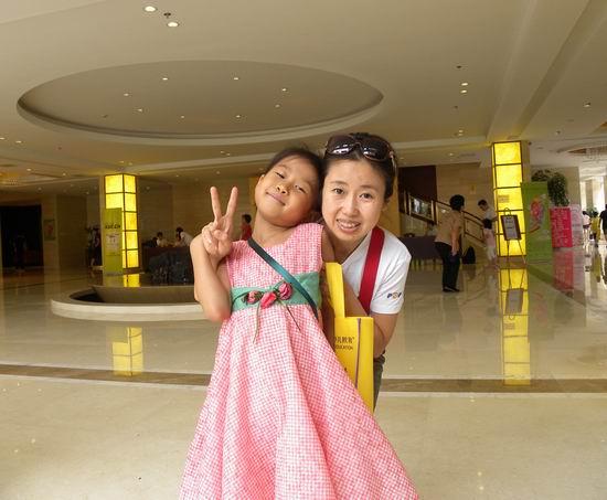 刘畅和妈妈