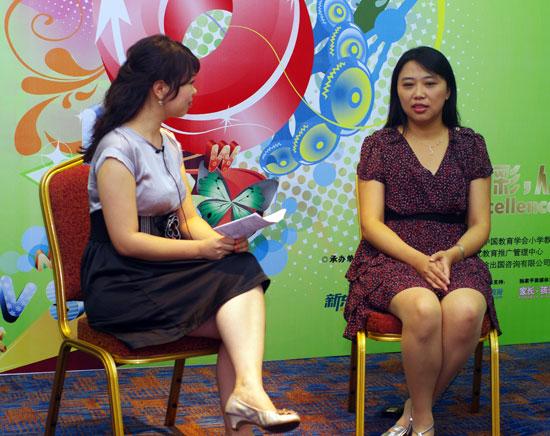 第六届POP全国少儿英语风采大赛:曹敏老师谈英语教育