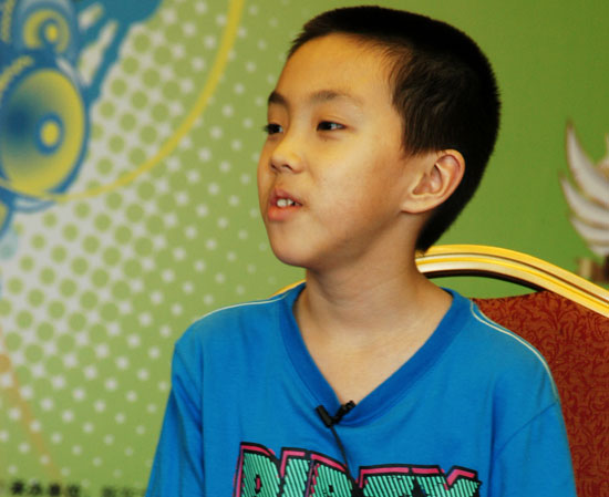 第六届POP全国少儿英语风采大赛15强选手专访:张泽宇谈英语学习经验