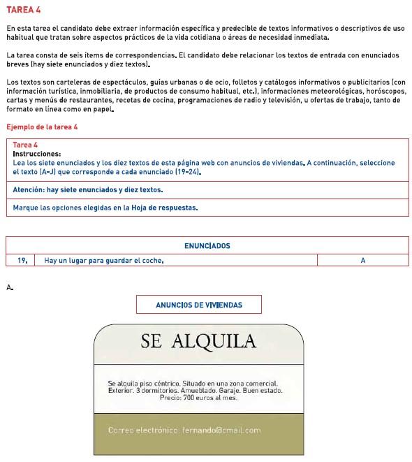 西班牙语DELE考试A2模拟题