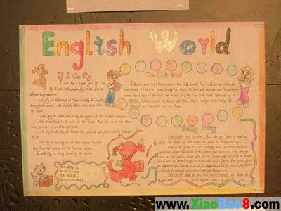 关于国庆节的手总结:英语世界月抄报高中图片