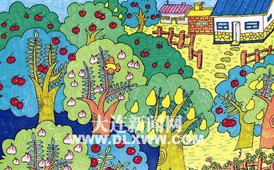 国庆节儿童绘画初中:图片的v初中加1什么3是五彩图片