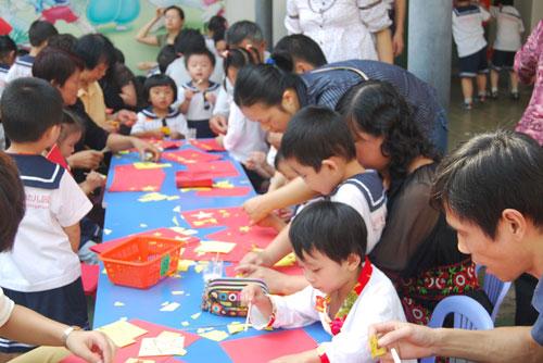 幼儿园国庆节亲子活动