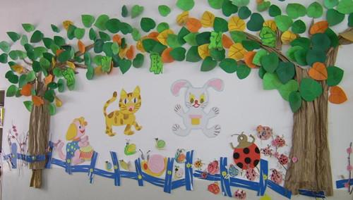 他包括幼儿园教室布置图片