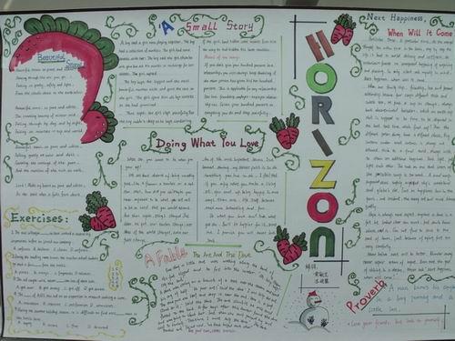 中学生万圣节英语手抄报 万圣节练习
