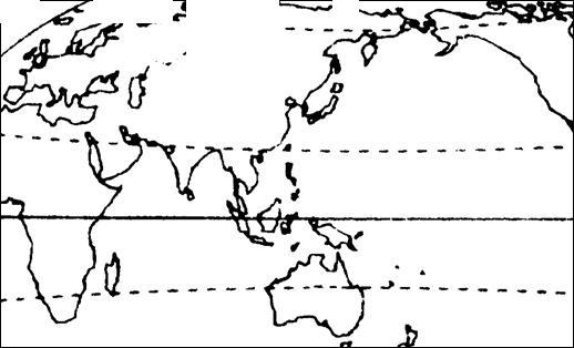 东亚、南亚、澳大利亚北部季风环流-中考地理第二轮复习 大气运动