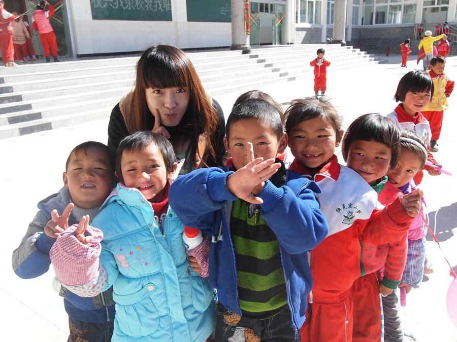2011新东方独克宗小学支教行-支教老师的风采