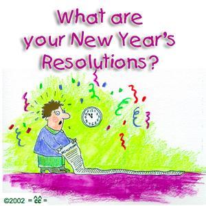 2012新年英语手抄报:美国人的新年计划top10