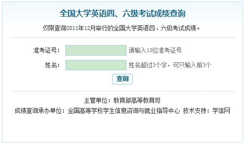 2011年12月四级成绩_2007年12月四级成绩出来了查询网址99宿舍