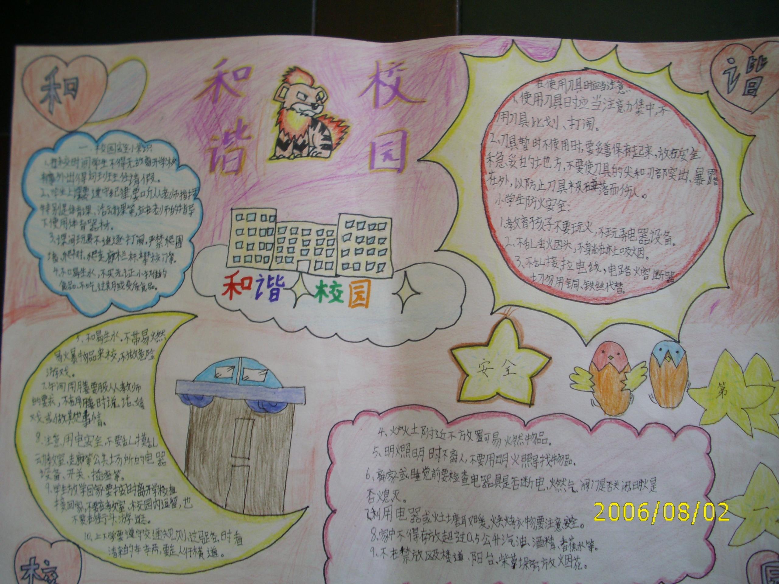 英语手抄报k真人 关于新年的英语手抄报 保护地球英语手抄高清图片