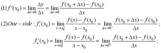 ap微积分ab和bc公式大全