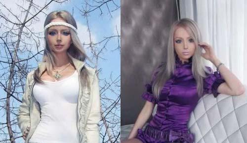 双语:乌克兰美女整容成芭比娃娃
