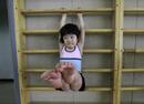 苦学跳水的中国孩子