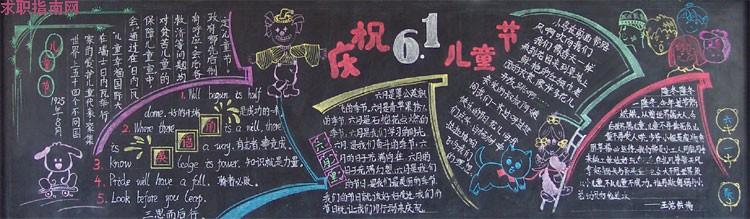 六一儿童节黑板报大全 六一儿童节黑板报资料素材