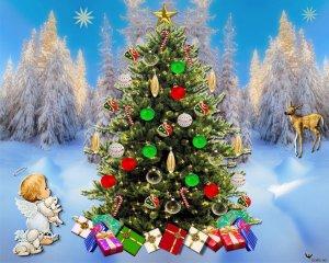 雅思听力背景资料:圣诞树的来历
