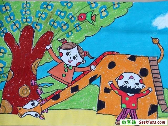 庆祝六一儿童节的画集锦
