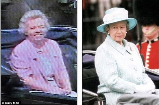 """英女王御用""""替身""""曝光 24年分文未取"""