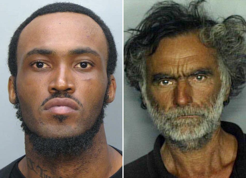 美国食脸男与受害者照片公布