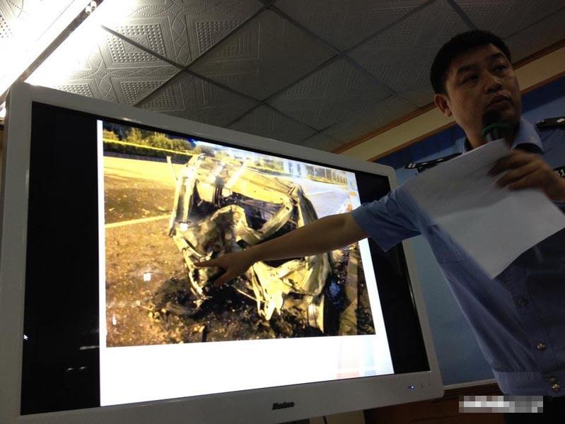 深圳飙车案通报会 警方否认自首者调包
