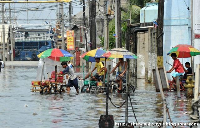 暴雨过后的菲律宾