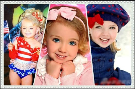 3岁女童萨瓦娜获近百选美冠军