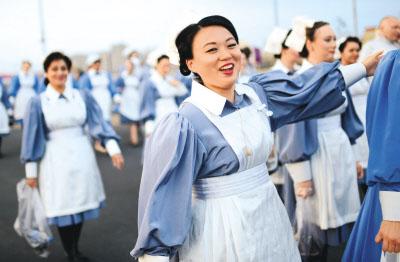 伦敦奥运会中的华人面孔
