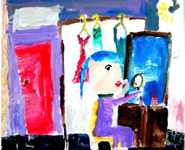 2012开学第一课:天才小画家作品