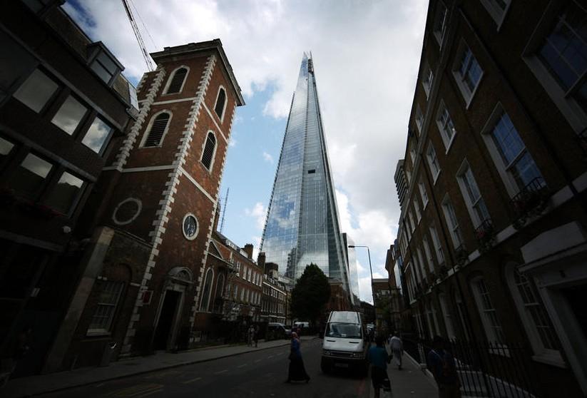 """欧洲最高建筑""""碎片大厦""""揭幕"""