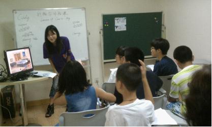 杭州新东方临平中心泡泡少儿英语体验课火爆开场