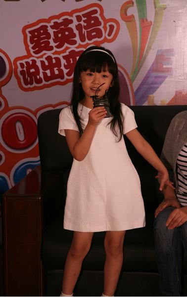 专访幼儿组亚军李玥凝:泡泡大赛让我更自信