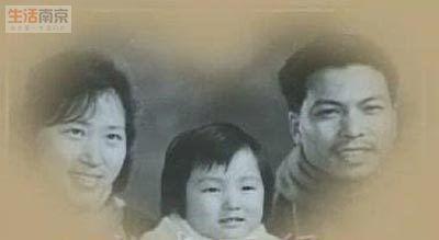 董卿与爸爸妈妈