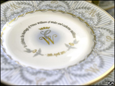 A plate by the Royal Collection