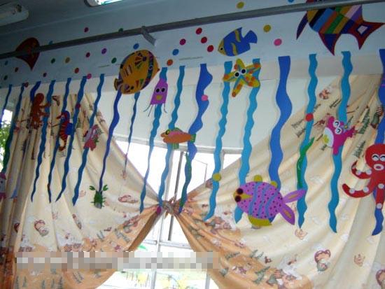 幼儿园吊饰图片:海底世界8