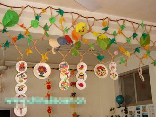 幼儿园吊饰图片:蚕宝宝