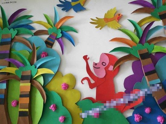幼儿园教室布置图片 幼儿园新年环境布置温馨版