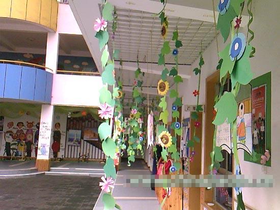 幼儿园走廊环境布置图片:春天7