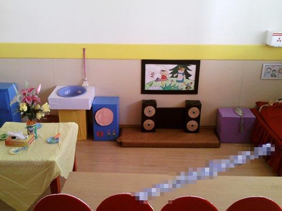 幼儿园区角环境布置:娃娃家8
