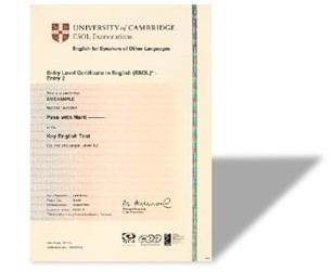 剑桥通用英语PET考试