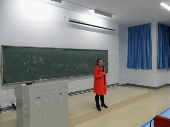 2012年托福和英语口语巡讲郑州航空工业管理学院东站