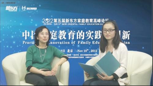 专访安妮鲜花:借鉴西方模式完善中国家庭教育