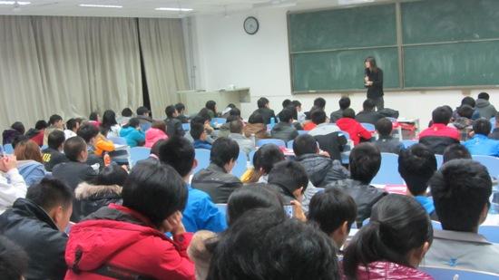 """""""走向未来""""考研巡讲走进中国石油大学"""