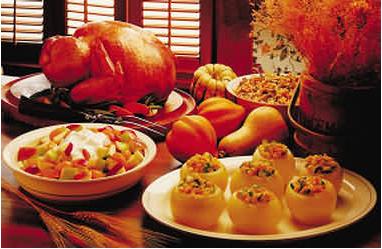感恩节水果面包火鸡手工制作