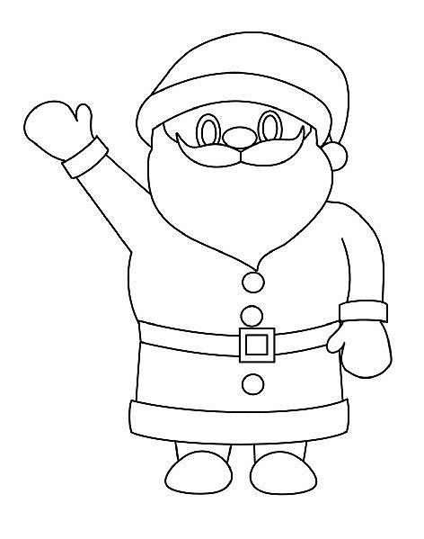 【圣誕節圖片】圣誕老人簡筆畫