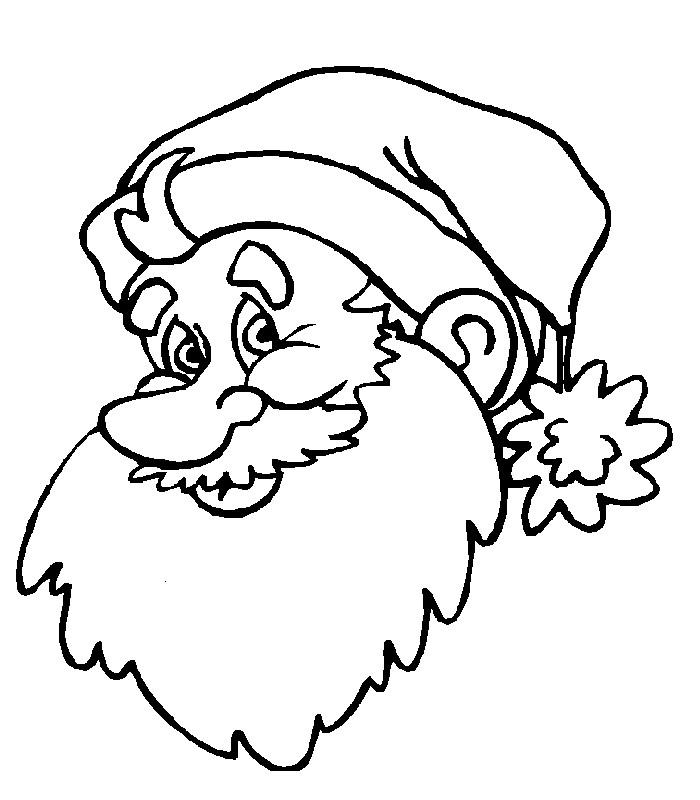 【圣诞节图片】圣诞老人简笔画