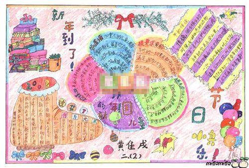 2013春节手抄报 春节祭灶