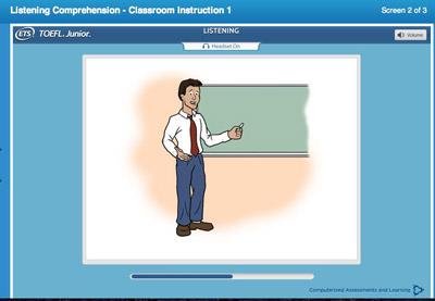 TOEFL Junior听力考试(机考)解析及备考策略