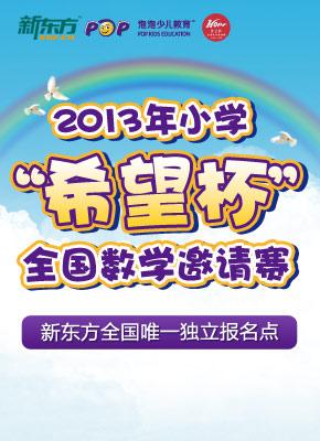 2013年小学希望杯全国数学邀请赛