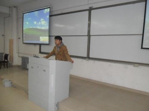 新东方郑州学校2014考研讲座走进河南财经政法大学